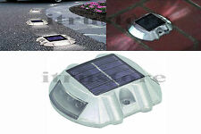 New Solar Power LED Outdoor Road Driveway Pathway Dock Path Ground Step Light