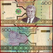 TURKMENISTAN grand billet NEUF de 500 MANAT Pick19 BIJOUX ARTISANAT