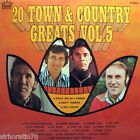 20 Town & Country Greats Vol. 5 LP Jimmy Little Reg Lindsay Col Joye Judy Stone