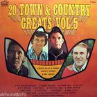 20 Town & Country Greats Vol. 5 LP Jimmy Little Reg Lindsay Col Joye Judy Stone
