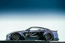 1:18 Make Up Eidolon Liberty Walk LB Nissan R35 GT-R Duck Tail Chameleon