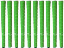 Tacki Mac Tour Pro Plus NEON Green Midsize (+3/64) Golf Grips - Set of 10 - NEW