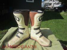 MSR MX Boots Sz 8 EUR 42 Mens MX Boots ATV MXT WHITE