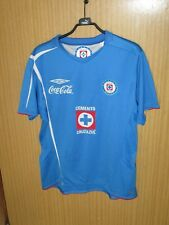 Maillot jersey shirt trikot ancien CRUZ AZUL MEXICO 2008 UMBRO AUTHENTIC MEXIQUE