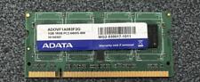 1GB Adata ADOVE1A0834E PC2-6400S 800MHz 200-Pin DDR2 Laptop Memory