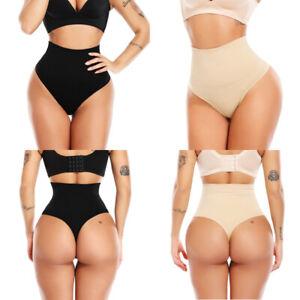 Women's Fat Free Dressing Thong Body Shaper Shapewear High Waist Magic Knickers