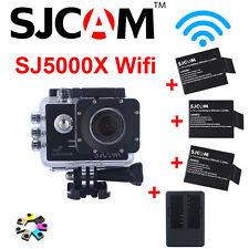 "SJCAM SJ5000X Elite WiFi 2.0"" 4K 24fps Action Helmet Camera+Battery+Dual Charger"