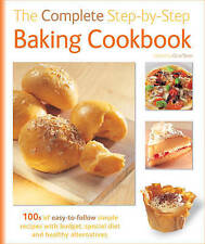 The Complete Step-by-step Baking Cookbook Hardback Book