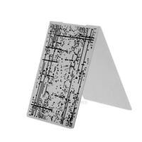 1pc Plastic Embossing Folder Template For Scrapbooking DIY Photo Album Card hv2n
