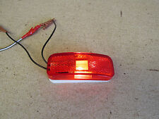 Glo Brite 118A/117R Replacement -RV Trailer Truck Side Marker Light - Red Lens
