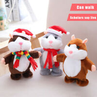 Talking Pet Hamster Hot Electronic Plush Toy Cute Sound Record Educational