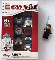 LEGO® Star Wars™ R2 D2 Minifigure Link Watch With Anakin Skywalker Minifigure