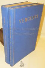 POEMA ENEIDE - P. Vergili Maronis: Opera, Aeneis, Georgica  2 Voll. - Roma 1930