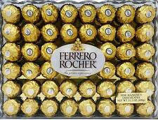 FERRERO ROCHER Hazelnut Chocolate Diamond Gift Box, 48 Pieces