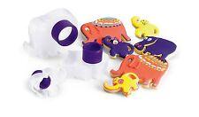 Cuisipro accoppiamento a scatto formine per biscotti 3 Forme Cottura Set NIDO-ANIMALI