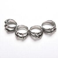 Fashion Mens Titanium Steel Finger Rings Dragon Claw Gothic Biker Ring 4 SiTPI