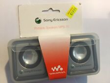 Sony Ericsson Portable Speakers In Silver MPS-70 Genuine