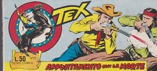 Rare original italian comic strip TEX SERIE COBRA # 15 year 1966 APPUNTAMENTO CO