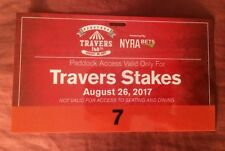 2017 Saratoga Travers Paddock Pass For Always Dreaming