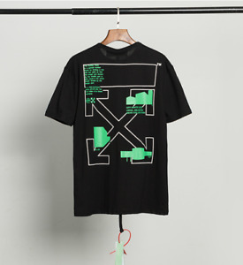 OFF WHITE OW Paar Modelle Kurzarm Loose T-Shirts Top neue Unisex Casual T-Shirt