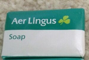 Four Bars--Aer Lingus / Irish Air Lines Bar Soap
