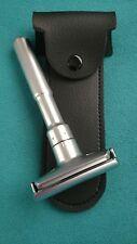 MERKUR FUTUR CLONE Adjustable DE Safety Razor + 5 Blades and Travel Case