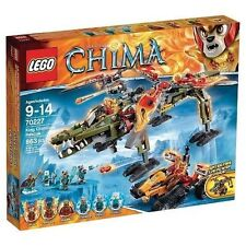 70227 KING CROMINUS' RESCUE lego legos set NEW sealed CHIMA laval saraw cragger