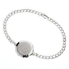 SOS Talisman Sterling Silver Ladies Bracelet 238122
