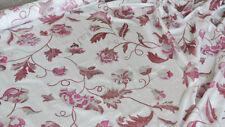 Scampoli di Taffetas bianco con stampa rosa e lilla (Violetta col.4)
