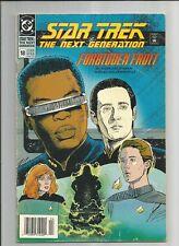 STAR TREK THE NEXT GENERATION #18  VG+ WHITE PAGES COPPER AGE DC COMICS 1991