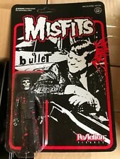 The Misfits JFK Bullet Blood Splatter Fiend Super7 ReAction Figure Danzig 2018