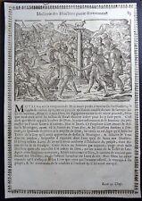 Gravures sur bois Woodcut print Jean Cousin Figures de la Sainte BIBLE Folio 83