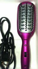Nice Hot Pink Conair MiniPRO Easy to use, SMOOTHING HAIR BRUSH SHINE STRAIGHTEN!