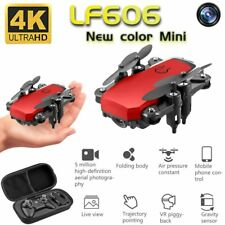 Mini FPV RC Quadcopter Drone 4K HD Wide Camera Foldable Helicopter Follow Me Toy