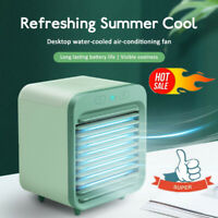 Rechargeable Water-cooled Air Conditioner Portable Mini Cooling Fan Bedroom