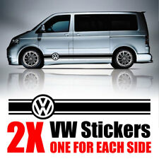 VW Transporter graphics Stripes Camper Van Caravelle Decals Stickers T4 T5 Caddy