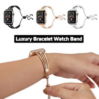 Stainless Steel Bracelet Band Strap for Apple Watch 6 5 4 3 SE iWatch 40/42/44mm