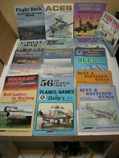 Lot (19) ASST SQUADRON SIGNAL WWII KOREAN WAR AIRCRAFT PUBLICATIONS ~READ WOW!