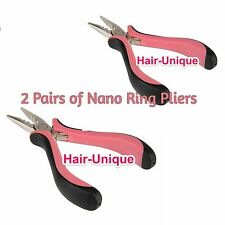 "Professional Hair Extensions Pliers 5"" X 2 for Nano Rings UK Stock Postage"