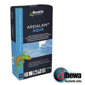 Bostik Ardalan Aqua WP Bodenausgleich Ausgleichsmasse Nivelliermasse 25kg Sack