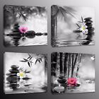 Home Decor Wall Art Stone Zen Giclee Canvas Prints Painting for Living Room 4pc