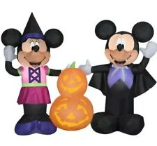 Disney Halloween Decorations Mickey Minnie Mouse Inflatable Outdoor Airblown NEW