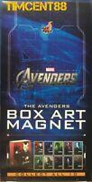Ready! Hot Toys The Avengers Box Art Magnet Set of 10 New
