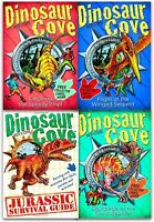 Dinosaur Cove 4 Books Collection Set Rex Stone Children Gift Pack Brand NEW