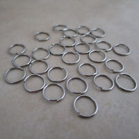 stainless steel 304 jewelry chainmaille jump rings open 10mm 18 gauge
