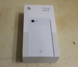 Google Pixel 3 64GB White Smartphone Cell Phone Unlocked