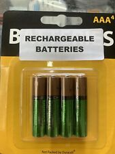 Duracell AAA  Rechargeable Batteries 850mAh