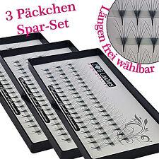 Set 3 Päckchen  6D Volumen Wimpern Fächer D-Curl 0,07 Russian Volume Silk Lashes
