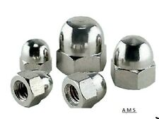 Stainless Steel Dome Nuts  M12