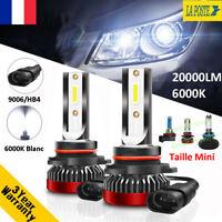 110W 20000LM 9006 HB3 LED Ampoule Voiture Feux Lampe Kit Phare Xénon Blanc 6000K